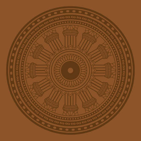 cult: The circle of Doctrine Buddha., Buddha LOGO.