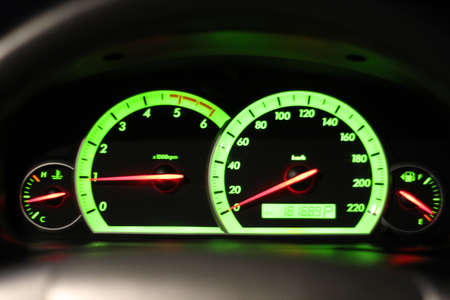 Odometer Speed in my car