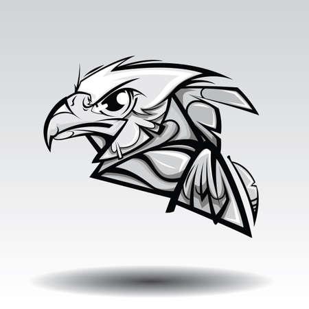 Eagle Design white background.