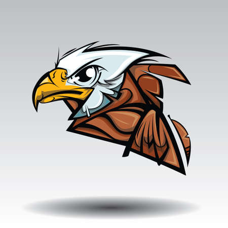 Eagle Design white background.