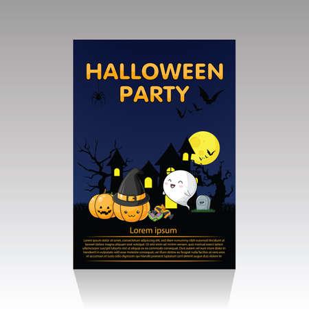 Cute Halloween Poster., Halloween content.