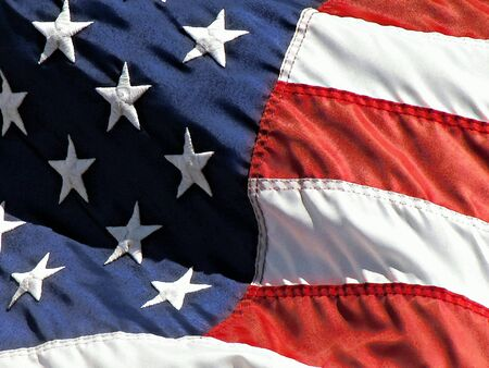 US flag in watercolor effect photo