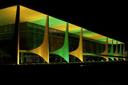 Nationaler Kongress in Brasilien, wo der Präsident das Land regiert. Standard-Bild - 79588235
