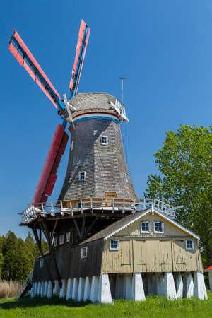 dutch: The iconic Dutch Windmill of Bayfield.