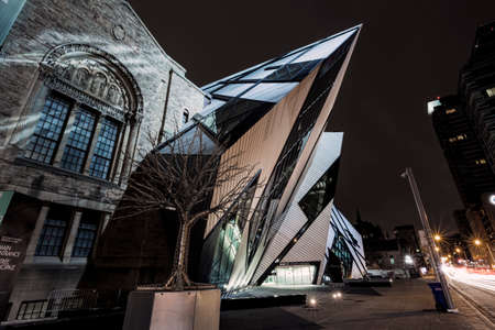rom: The famous and amazing Crystal at the ROM.