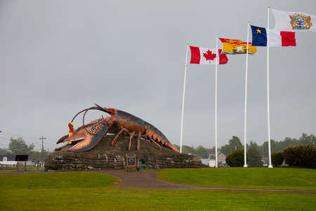 Lobster Capital of the World, Shediac is a Canadian town that boasts The Worlds Largest Lobster weighing in at 90-tonnes.