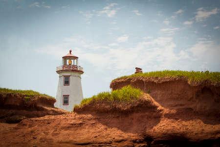 プリンス ・ エドワード島の北ポイント Lightstation