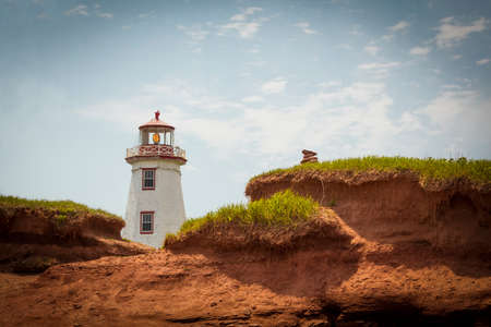 North Point Lightstation van Prince Edward Island