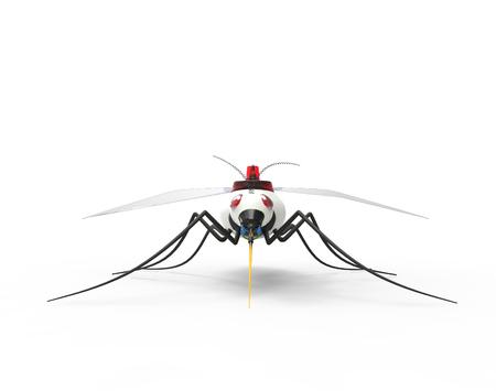 Futuristic Mosquito Nano Robots