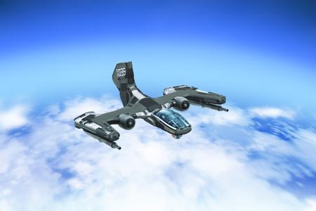 Combat Aerial Vehicle Prototype