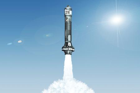 3D Nuclear Rocket Launch