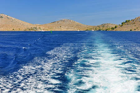 Kornati Islands in Croatia photo