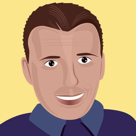 illustration of young people Vector