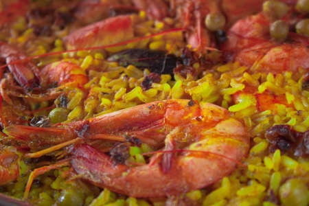 marisco: Seafood paella