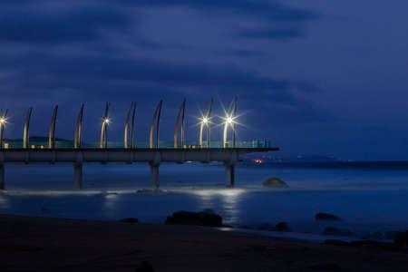 Umhlanga Pier Banco de Imagens