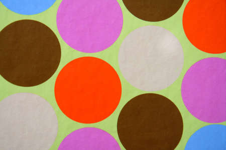 symetry: Colorful circles make up this abstract background. Stock Photo