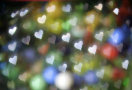 Heart shapes done in a bokeh for a great abstract or background. Stock Photo - 4475039