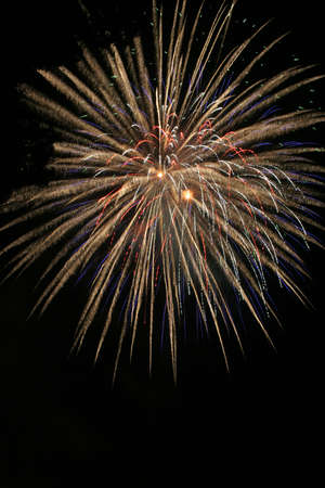 large burst of fireworks Stock Photo - 7022165