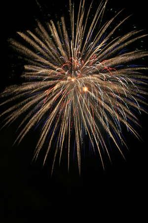 large burst of fireworks Stock Photo - 7022165