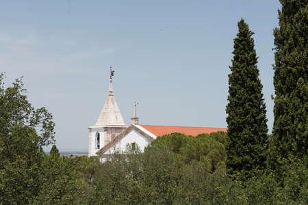 The steeple of the Church of Nossa Senhora da Conceio