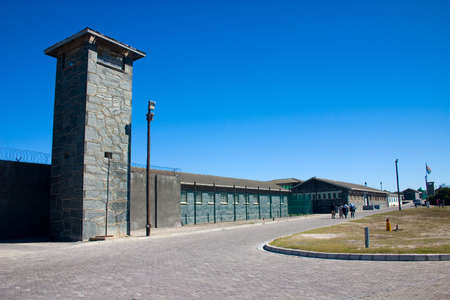 held: Robben Island Prison where Nelson Mandela was held captive
