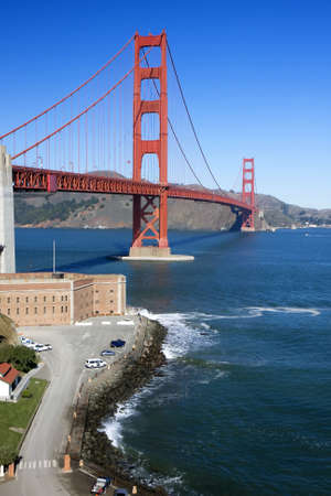 view of the golden gate bridge san francisco Stock Photo - 5059836