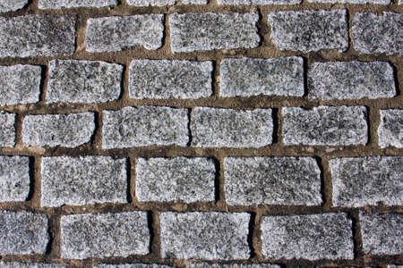Church cobblestone pathway photo