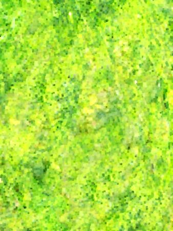 eroded: abstract green background dilated and eroded many times