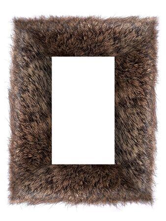 faux: Telaio fare di eco-pelliccia