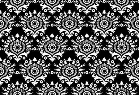 Unique black and white wallpaper Stock Photo - 6759721