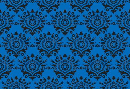 Abstract black and blue wallpaper design photo