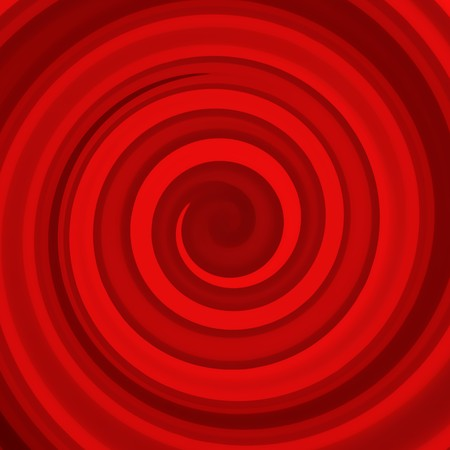 Abstract illustration of a red twisted background Stock Illustration - 7340092