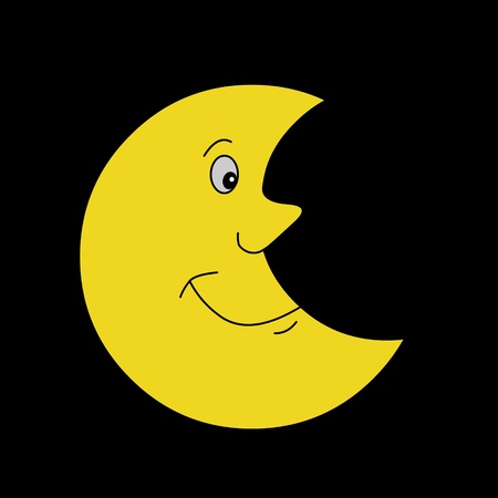 illustration of the Moon illustration