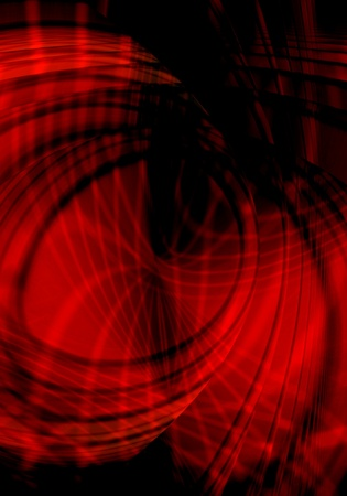background abstracts: Abstract red grunge illustrated background Stock Photo