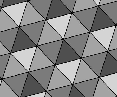 Abstract background illustration of grey triangles illustration