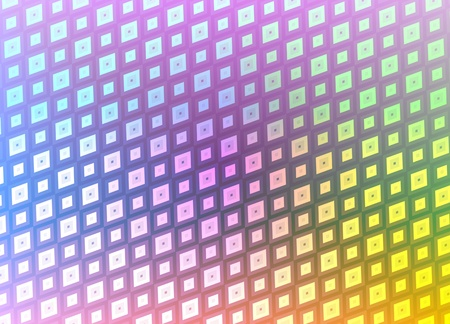 Abstract illustration of multicoloured pattern Stock Illustration - 12084289