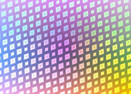 Abstract illustration of multicoloured pattern Stock Illustration - 12084289