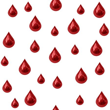 Seamless background of blood drips photo