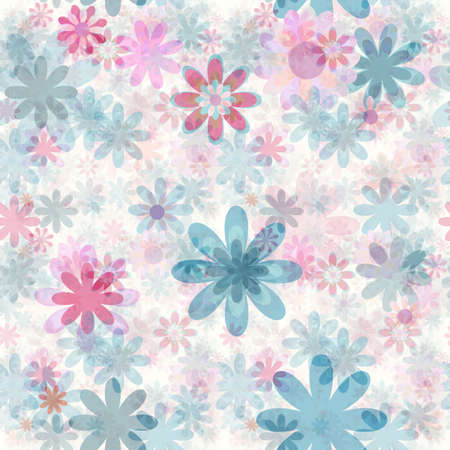 seamless background de fleurs