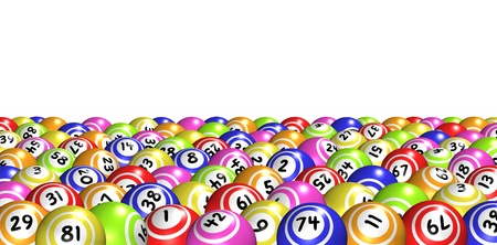 lotto: Bingo balls