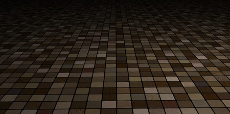 Illustrated Perspective floor made of wooden tiles Stock Photo - 18003454