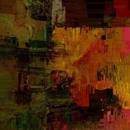 pixelated: Illustration of a pixelated abstract grunge