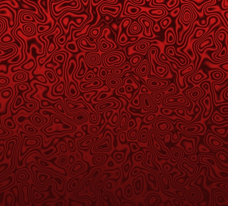 warped: Abstract illustration of a red warped background