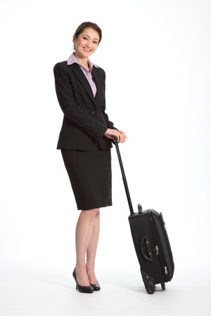 Business trip for career woman Stock Photo - 9567638