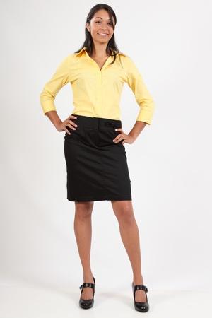 Confident young executive woman photo