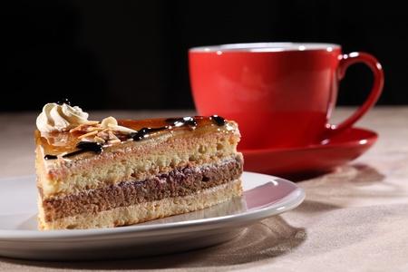 slice cake: