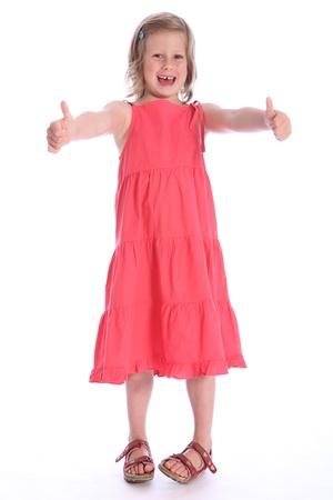 Linda Rubia De Seis Años Niña De La Escuela Primaria Con Un