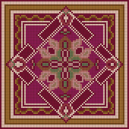 Ornamental pattern. Ethnic ornament. Illustration