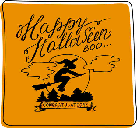 moonrise: Perfect template for Halloween party. Headstone and own main font. Good typography for your celebrate. Made by hand and with love. Illustration