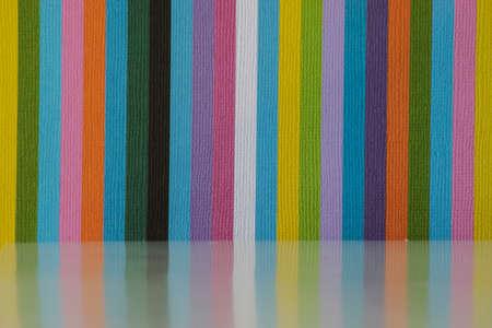 rainbow stripe: Rainbow stripe background Stock Photo